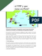 Qué Es El TPP y Que Impacto Tiene en Perú