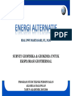 Tm 10 Energi Alternatif Geofisik & Geokimia