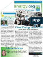 Fall 2008 Southern Alliance for Clean Energy