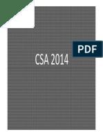 Doutrina de Segurança e Segurança Aproximada - Csa 2014 - 13 Maio 2014