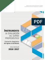 5. Instrumento de Evaluacion Del Curso Propedeutico 2016-2017