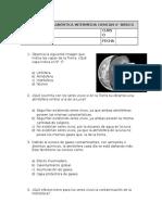 Evalualiación Intermedia Ciencias 6º