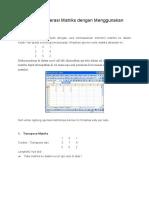 Menghitung Operasi Matriks dengan Menggunakan Microsoft Excel_1.docx