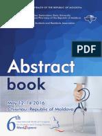 Abstract Book MedEspera 2016