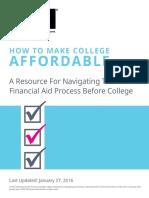 Make College Affordable