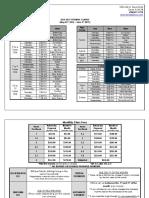 2016-2017 Schedule