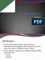Formulários e Frames em HTML