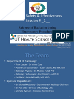 Safe Use of Radiation During Fluoroscopy Procedures