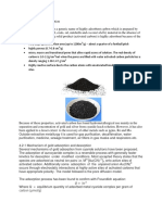 Gold Adsorption on Activated Carbon