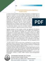 Relanzamiento de la relación bilateral entre Estados Unidos y Argentina