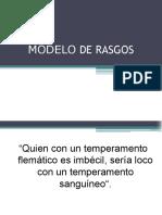 09 Modelo de Rasgos
