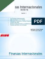 Finanzas Internacionales SISE 2016 SE 01