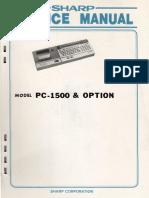 Pc1500 Service Manual