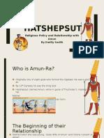Hatshepsut Presentation
