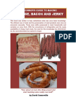 Sausage Bacon and Jerky
