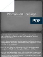 Woman Led Uprisings
