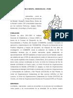 Plurinacionalidad e Interculturalidad de la provincia de Manabí