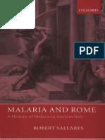 [Robert Sallares] Malaria and Rome a History of M
