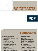9 Food Acidulants