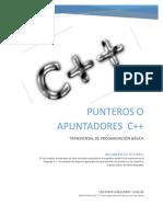 PUNTEROS O APUNTADORES C++