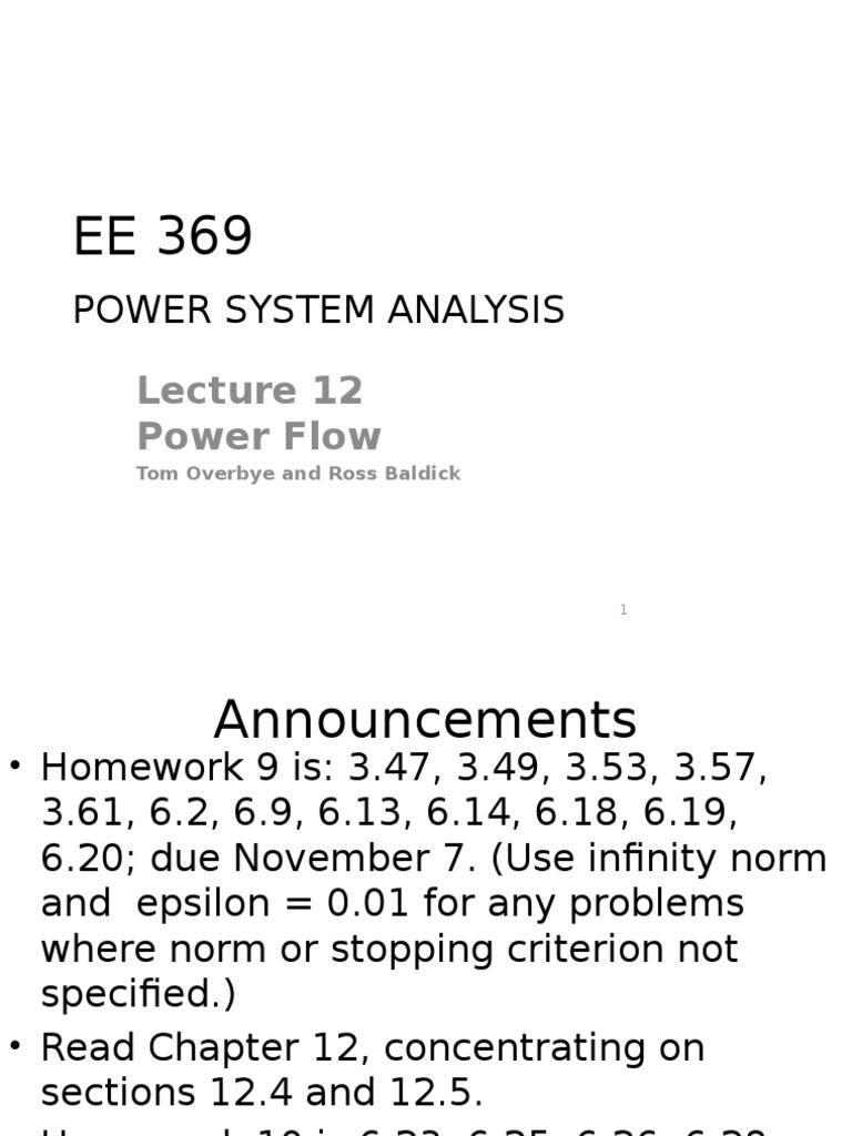 Newton Raphson Method | Electrical Engineering