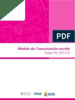 Guia de Orientacion Modulo de Comunicacion Escrita Saber Pro 2015 2