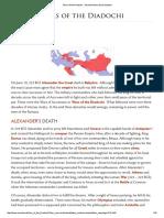Wars of the Diadochi - Ancient History Encyclopedia