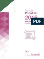 Manual Portafolio ssCiclo 2016