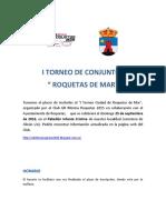 Bases i Torneo Ciudad de Roquetas de Mar
