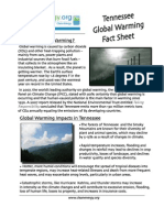 Tennessee Global Warming Fact Sheet