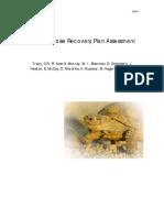 Desert Tortoise Recovery Plan Assessment, 2004