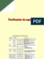 Capacidad de Planta Producción