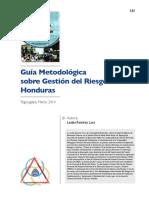 Guia Metodologica Sobre Gestion Del Riesgo Honduras