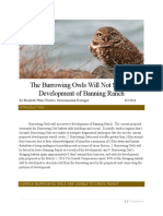 ccc submission the burrowing owl will not survive the development