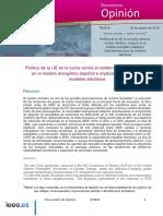 2016 Politica UE CambioClimatico Carbajo-Amores