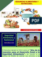 Nutrición Clínica - Seguridad Alimentaria y Nutricional