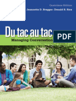 Du Tac Au Tac - Managing Conversations in French (4e Edition)