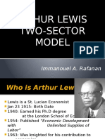 Arthur Lewis Two Sector Model