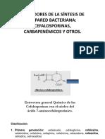 Cefalsoporina Sy Carbapenemicos