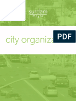 City Organization Plan