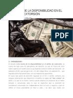 LA TEORÍA DE LA DISPONIBILIDAD EN EL DELITO DE EXTORSIÓN.docx