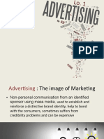 Advertising, Public Relations & Sale Promotion.  Marketing presentation (PDF files)