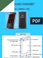 Samsung's Palmtop details
