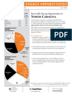 WRI North Carolina Renewable Energy Fact Sheet