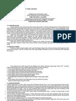Program Kerja Kesiswaan Tahun pelajaran 2014