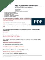 Questionário de Migração DOS x RM-padrao
