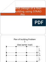 Analysis and Design of 4 Storey Building