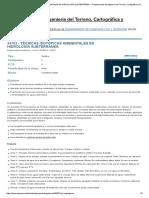 34762 - Técnicas Isotópicas Ambientales en Hidrología Subterránea