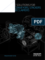 Drive Solutions for Belt Conveyors Stackers and Reclaimers En