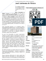 Universidad Nacional Autónoma de México - Wikipedia, La Enciclopedia Libre